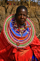 Maasi Woman